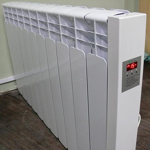 Алюминиевый электрорадиатор.